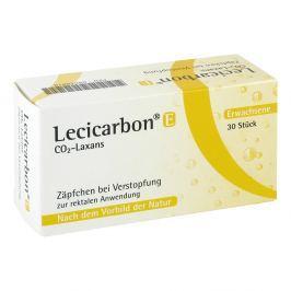 Lecicarbon E Co2 Laxans Erw.-suppos.