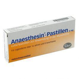 Anaesthesin Pastillen