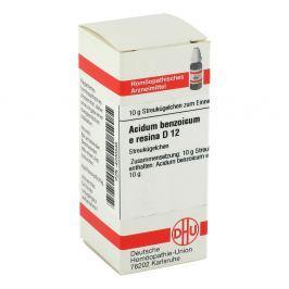 Acidum Benzoicum E.res. D 12 Globuli