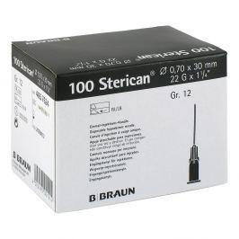Sterican Kan.luer-lok 070x30mm igła roz. 12 czarna