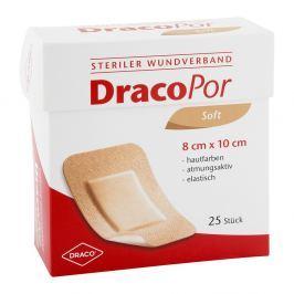 Dracopor Wundverband 10x8cm steril hautfarben