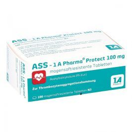 Ass 1a Pharma Protect 100 mg magensaftresistent Tabletten