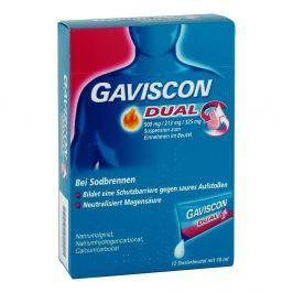 Gaviscon Dual 500mg/213mg/325mg Suspens.im Beutel