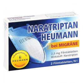 Naratriptan Heumann, tabletki na migrenę 2,5 mg