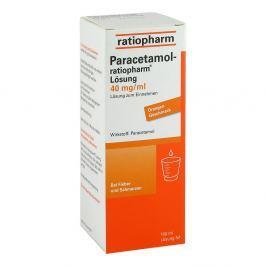 Ratiopharm Paracetamol roztwór 40mg/ ml