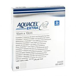 Aquacel Ag Extra 10x10cm Kompressen