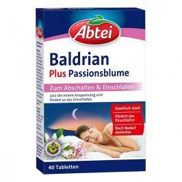 Abtei Baldrian plus tabletki z passiflorą