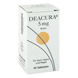 Deacura 5 mg Tabl. Witaminy, minerały, suplementy diety