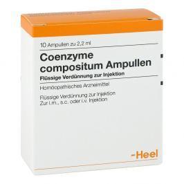 Coenzyme Coenzyme compositum ampułki Medycyna naturalna