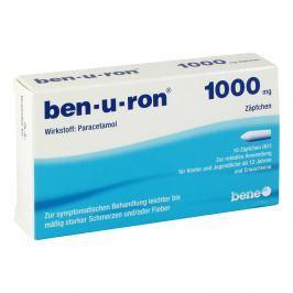Ben U Ron 1000 mg Erw.-suppos. Przeziębienie i grypa