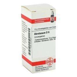 Abrotanum D 6 Globuli