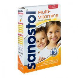 Sanostol soczek bez cukru Witaminy, minerały, suplementy diety