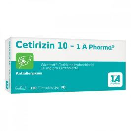 Cetirizin 10 1a Pharma Filmtabl. Alergia
