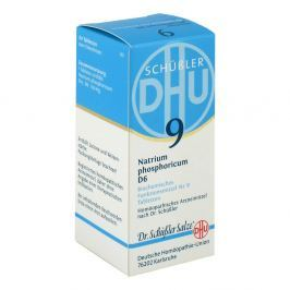 Biochemie DHU sól Nr 9 fosforan sodowy D6 tabletki Medycyna naturalna