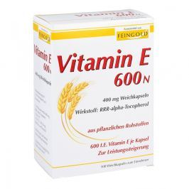 Vitamin E 600 N Weichkapseln Witaminy, minerały, suplementy diety