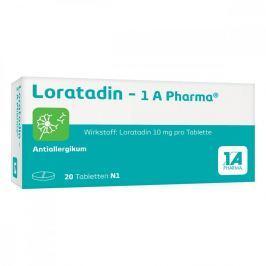 Loratadin 1a Pharma Tabl. Alergia