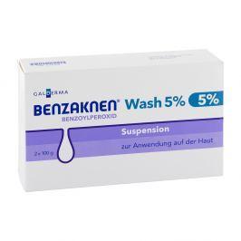 Benzaknen Wash 5 % Suspension Skóra