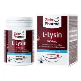 L-lysin 1000 mg Zitrone Kautabletten Witaminy, minerały, suplementy diety