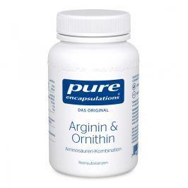 Pure Encapsulations Arginin + Ornithin kapsułki