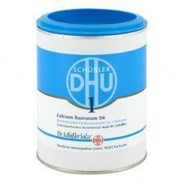 Biochemie Dhu 1 Calcium fluorat.D 6 Tabl. Medycyna naturalna