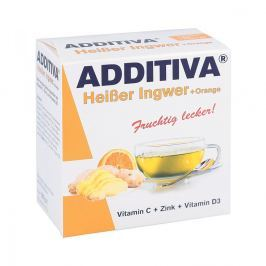 Additiva Heisser Ingwer+orange Pulver