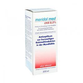 Meridol med Chx 0,2% płyn do płukania jamy ustnej Pielęgnacja zębów i jamy ustnej