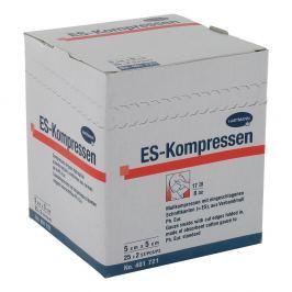 Kompresy Es 5x5cm 8-krotne jałowe Apteczki i materiały opatrunkowe