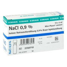 Kochsalzloesung 0,9% Miniplasco connect Przeziębienie i grypa