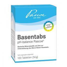 Basentabs pH Balance Pascoe tabletki zasadowe Witaminy, minerały, suplementy diety