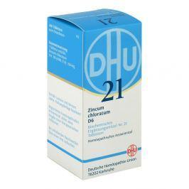 Biochemie Dhu sól Nr 21 Chlorek cynku D6 tabletki Medycyna naturalna