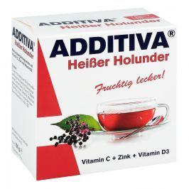 Additiva Heisser Holunder Pulver Witaminy, minerały, suplementy diety