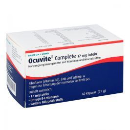 Ocuvite Complete 12 mg Lutein Kapseln Witaminy, minerały, suplementy diety