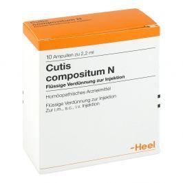 Heel Cutis Compositum N ampułki do iniekcji