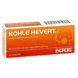 Hevert tabletki z węglem