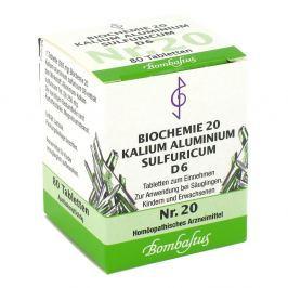 Biochemie 20 Kalium aluminium sulf.D 6 Tabl.