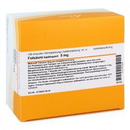 Folsäure Injektopas 5 mg ampułki  Witaminy, minerały, suplementy diety