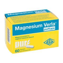 Magnesium Verla purKaps vegane Kapseln zum Einnehmen