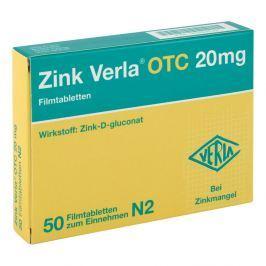Zink Verla Otc 20 mg Filmtabl.