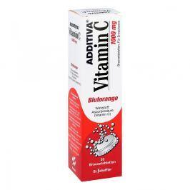 Additiva Vitamin C Czerwnone pomarańcze tabletki musujące