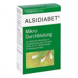 Alsidiabet Diabetiker Mikro kapsułki na ukrwienie Witaminy, minerały, suplementy diety