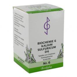 Biochemie 6 Kalium sulfuricum D 6 Tabl. Medycyna naturalna