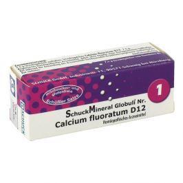 Schuckmineral Globuli 1 Calcium fluor. D12 Medycyna naturalna
