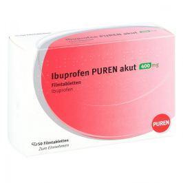 Ibuprofen Puren akut 400 mg Filmtabletten Przeziębienie i grypa