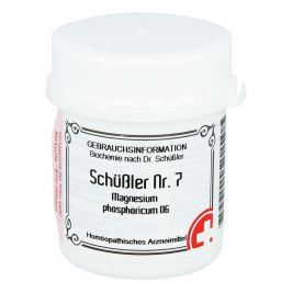 Schüssler Nummer 7  Magnesium phosphoricum D 6 Tabletten  Medycyna naturalna