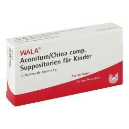 Wala Aconitum/china comp. czopki dla dzieci Medycyna naturalna