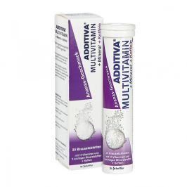 Additiva multiwitamina + kofeina tabeltki musujące Witaminy, minerały, suplementy diety