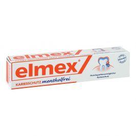 Elmex pasta do zębów bez mentolu Pielęgnacja zębów i jamy ustnej