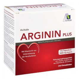 Arginin plus Vitamin B1+b6+b12+folsäure Filmtabletten  Witaminy, minerały, suplementy diety