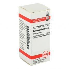 Acidum Sulfuricum D 12 Globuli