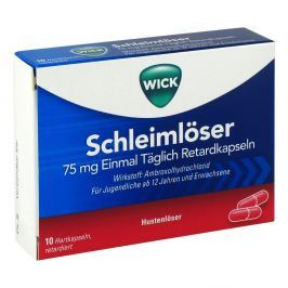 Wick Schleimloeser 75 mg Einmal Taeglich Ret.-kps.